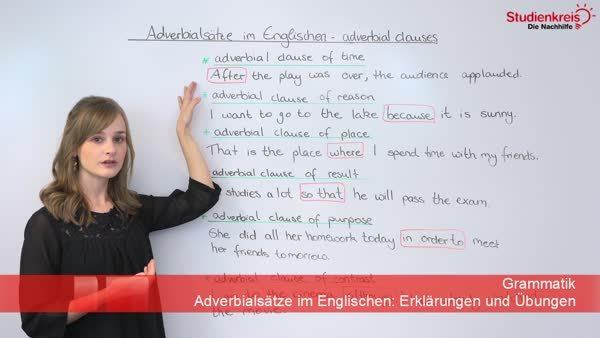 Video Adverbialsatze Umformen So Gelingt S 6