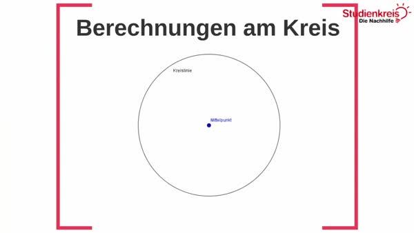 Kreis - So berechnest du Flächeninhalt und Umfang!