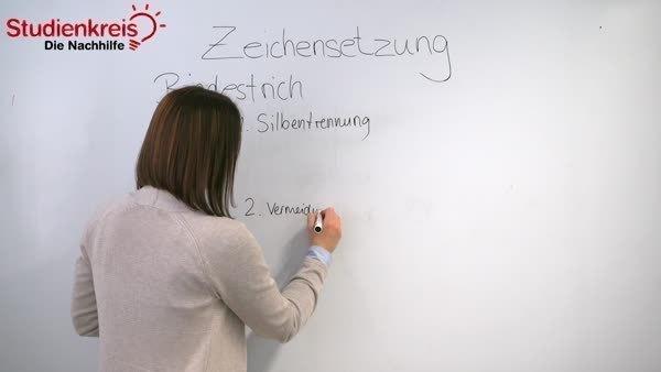 Zeichensetzung - Regeln und Übungen - Deutsch Klasse 7