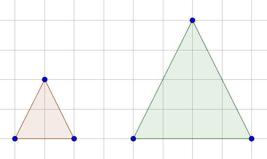 Zwei Dreiecke