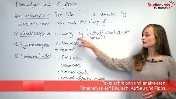 Filmanalyse Auf Englisch Aufbau Und Tipps