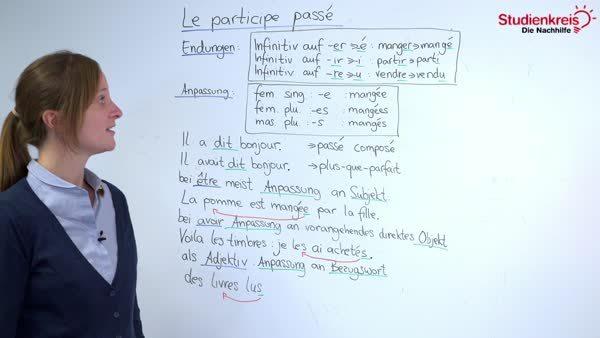 Bildung Des Passé Composé Einfach Erklärt
