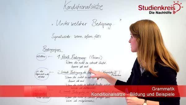 konditionalstze bildung und beispiele - Adverbialsatze Beispiele