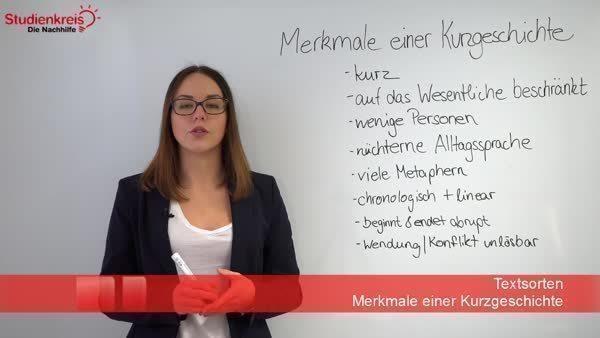 Merkmale der Kurzgeschichte - Deutsch Klasse 7