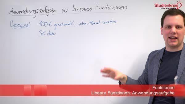 Lineare Funktionen - So löst du eine Textaufgabe!