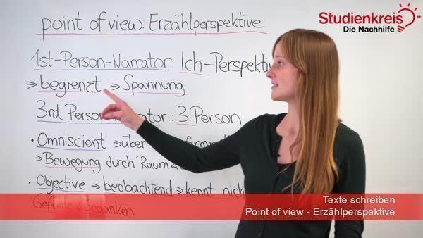 point of view erzhlperspektiven englisch klasse 10 - Auktorialer Erzahler Beispiel