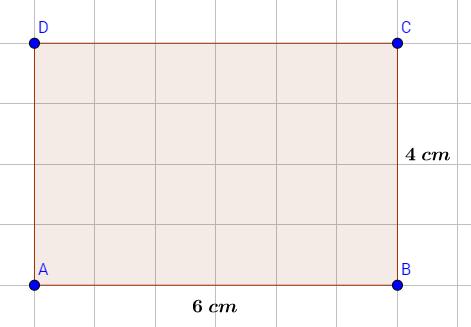Rechteck 6 X 4