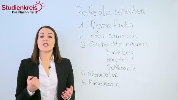 Referate Schreiben Tipps Zu Aufbau Und Vorbereitung