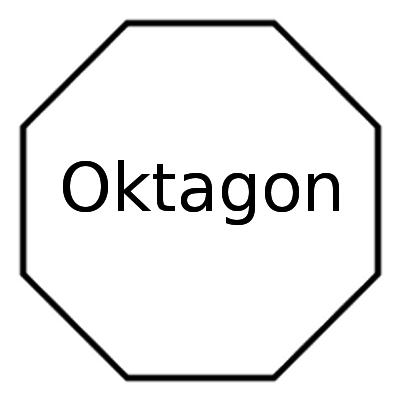 regelmäßiges Oktagon