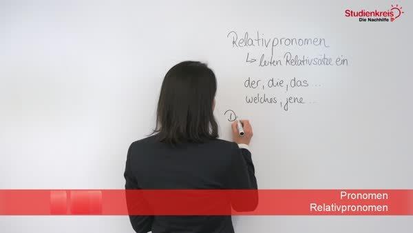 Tabelle der Relativpronomen mit Beispielen und Übungen