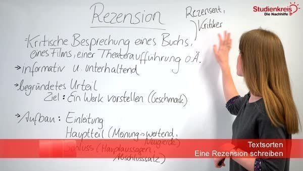 Was Ist Eine Rezension Erklärung Und Tipps Zum Schreiben