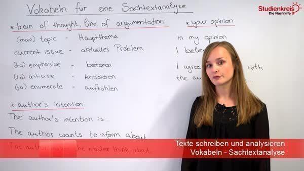 Sachtexte Im Englischunterricht Analysieren