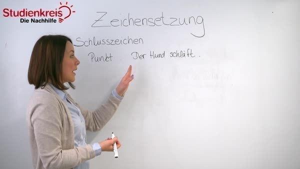 Zeichensetzung Regeln Und übungen Deutsch