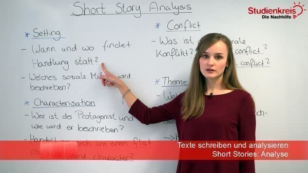 Short Stories Im Englischunterricht Analyse