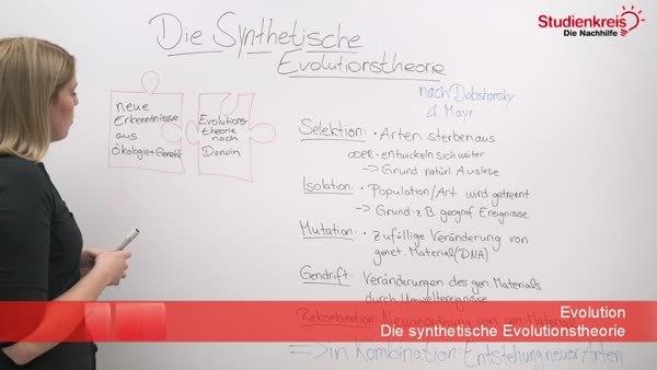 Die Synthetische Evolutionstheorie