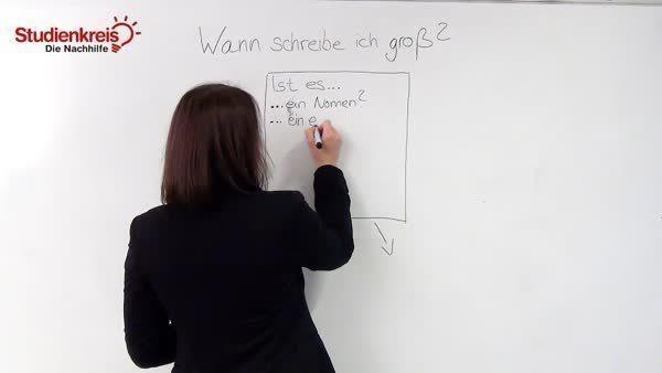 Wann Schreibt Man Groß Regeln Und Grammatik Studienkreisde