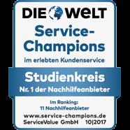 Die Welt Service-Champions